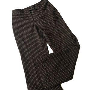 Ann Taylor Petite 4P Laura. pinstripe Dress Pants